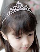 お買い得  女児 ドレス-子供 女の子 ヘアアクセサリー シルバー フリーサイズ / ヘアクリップ&バンス