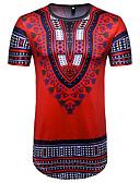 זול טרנינגים וקפוצ'ונים לגברים-צווארון עגול סגנון רחוב טישרט-בגדי ריקוד גברים