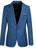 cheap Women's Nightwear-Men's Blazer - Solid Colored, Oversized