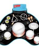 זול חולצות פולו לגברים-צעצוע מוסיקה צעצועי כלי מנגינה כלים מוסיקליים מערכת תופים מוזיקה