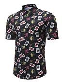 povoljno Muške košulje-Majica Muškarci - Osnovni Ulični šik Dnevno Izlasci Color block Print