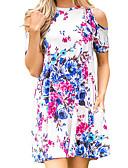 tanie Sukienki-Damskie Bawełna Szczupła Spodnie - Solidne kolory / Kwiaty Podstawowy Wysoka talia Czarny / Impreza / Mini / Seksowny