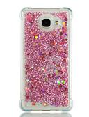 halpa Puhelimen kuoret-Etui Käyttötarkoitus Samsung Galaxy A3 (2017) / A5 (2017) / A7 (2017) Iskunkestävä / Virtaava neste / Kimmeltävä Takakuori Sydän / Kimmeltävä Pehmeä TPU