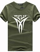 ieftine Maieu & Tricouri Bărbați-Bărbați Rotund Tricou Scrisă