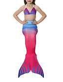 cheap Women's Tanks-The Little Mermaid Swimwear / Bikini Girls' Halloween / Carnival Festival / Holiday Halloween Costumes Yellow+Blue / Black / Orange / Red+Blue Vintage