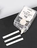 baratos Meias & Meias Calças-Suprimentos de correção Caneta Caneta, Plásticos branco cores de tinta Para material escolar Material de escritório Pacote de  1 pcs