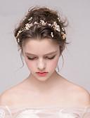 baratos Vestidos de Casamento-Strass Headbands com Pedrarias / Pérolas 1pç Casamento / Festa / Noite Capacete