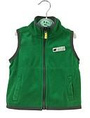 tanie Okrycie Chłopięce wierzchnie dla niemowląt-Dziecko Dla chłopców Casual Codzienny Solidne kolory Elegancki Bez rękawów Regularny Bawełna Kamizelka Zielony