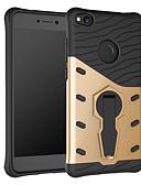 olcso Mobiltelefon tokok-Case Kompatibilitás Huawei P8 Lite (2017) Ütésálló / Állvánnyal / 360° forgás Fekete tok Páncél Kemény PC mert P8 Lite (2017)