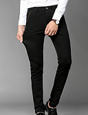 cheap Men's Pants & Shorts-Men's Skinny Pants - Solid Colored Formal Style