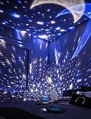 tanie Suknie i sukienki damskie-Oświetlenie LED / Lampka projekcyjna Rozgwieżdżone niebo Świecące w ciemności Romantyczna Prezent