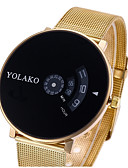 cheap Quartz Watches-Women's / Couple's Casual Watch / Sport Watch / Fashion Watch Chinese Casual Watch Alloy Band Luxury / Casual Silver / Gold