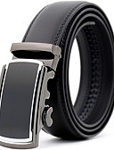cheap Men's Belt-Men's Party / Work Waist Belt Pleated