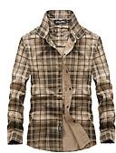 ieftine Tricou Bărbați-Bărbați Cămașă De Bază - Dungi