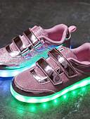 tanie Dresses For Date-Dla chłopców / Dla dziewczynek Obuwie Siateczka / Tiul Lato Lekkie podeszwy / Świecące buty Adidasy LED na Złoty / Srebrny / Różowy