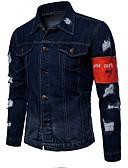 رخيصةأون بنطلونات و شورتات رجالي-للرجال جواكيت جينز أساسي بانغك & قوطي لوحات