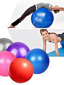 ieftine Bolerouri de Nuntă-95cm Exercițiu Ball / Yoga Ball Profesional, Explozie-Proof, Gros PVC A sustine 500 kg Cu Instruirea echilibrului Pentru Yoga / Pilates / Fitness