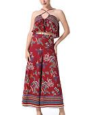 זול חולצה-מכנס אחיד - עליונית טנק כותנה מידות גדולות בגדי ריקוד נשים / אביב