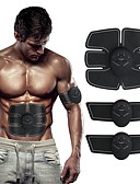 cheap Men's Jackets & Coats-Abs Stimulator / Abdominal Toning Belt / EMS Abs Trainer With Electronic, Muscle Toner, Wireless Rechargeable, Weight Loss, Ultimate Training For Men / Women Fitness / Gym Arm, Leg, Abdomen Home