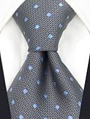olcso Férfi nyakkendők és csokornyakkendők-Férfi Pöttyös Jacquardszövet Party Munkahelyi - Nyakkendő