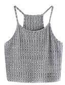 ieftine Bluze & Camisole Femei-Pentru femei Cu Bretele Tank Tops Bumbac De Bază - Mată
