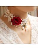 رخيصةأون أوشحة نسائية-قلادات ضيقة - وردة حلو, أنيق التقزح اللوني 38 cm قلادة مجوهرات من أجل زفاف, حفلة ليلية
