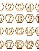 levne Závoje-Dřevěný Tabulka Center Pieces - Nepřizpůsobeno držáky jmenovek Ozdoby 20pcs Celý rok