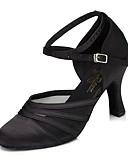 זול חליפת גוף-בגדי ריקוד נשים נעלי ריקוד סינטתי נעליים מודרניות עקבים עקב קובני שחור / סגול / אימון / EU39