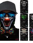 abordables Camisetas para Mujer-Máscara de protección contra la polución Todas las Temporadas Secado rápido / Resistente a los UV / Antibacteriano Ciclismo de Pista / Senderismo / Ciclismo / Bicicleta Unisex Poliéster Calaveras