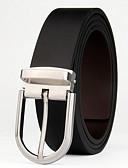 abordables Cinturones de hombres-Hombre Piel Cinturón de Cintura - Activo / Básico