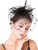 preiswerte Brautmutter Kleider-Damen Retro / Elegant Fascinator - Blume / Gitter Solide