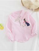 preiswerte Kleider für die Blumenmädchen-Kinder Mädchen Jacquard Langarm Hemd