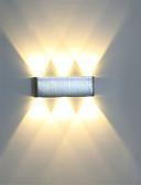 tanie Piżamy i szlafroki męskie-nowoczesny kinkiet 6w led kinkiet wewnętrzny korytarz kinkiet aluminiowy oświetlenie dekoracyjne led zintegrowane