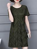 tanie Sukienki w rozmiarach plus-Damskie Podstawowy Spodnie - Solidne kolory Zielony