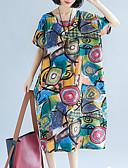 povoljno Ženske suknje-Žene Širok kroj Hlače - Color block Niski struk Duga / Izlasci