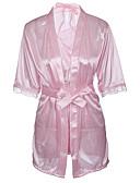 billige Nattøj til damer-Dame Uniformer og kinesiske kjoler Nattøj - Trykt mønster, Broderi
