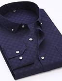 billige Herreskjorter-Skjorte Herre - Stripet / Geometrisk Grunnleggende
