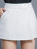tanie Damskie spodnie-Damskie Aktywny Rozmiar plus Luźna Krótkie spodnie Spodnie Jendolity kolor Wysoka Talia
