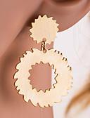 זול חולצות לנשים-בגדי ריקוד נשים טבעות חישוקים - סופגניות, Gear קלסי, ארופאי זהב / כסף עבור יומי משרד קריירה