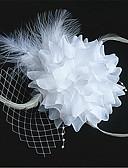 tanie Damska spódnica-1 szt. Dzieci Dla dziewczynek Prezenty bożonarodzeniowe / Specjalne okazje Solidne kolory / Zasłonki Kwiat Tweed Akcesoria do futerka Biały / Rumiany róż Jeden rozmiar / Spinki