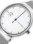 رخيصةأون ساعات رياضة-MINI FOCUS للرجال ساعة المعصم كوارتز إبداعي تصميم جديد ساعة كاجوال ستانلس ستيل فرقة مماثل موضة الحد الأدنى أسود / أزرق / ذهبي - أسود فضي أزرق