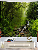 billige Blomsterpigekjoler-Ferie Vægdekor polyester Klassisk Vægkunst, Wall Gobeliner Dekoration