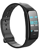 cheap Smartwatches-Smart Bracelet Smartwatch C1 PLUS for iOS / Android Blood Pressure Measurement / Calories Burned / Touch Screen / Water Resistant / Water Proof / Pedometers Pedometer / Call Reminder / Activity