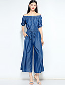 cheap Women's Jumpsuits & Rompers-Mary Yan & Yu Women's Basic / Street chic Jumpsuit - Solid Colored