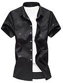 povoljno Muške košulje-Majica Muškarci - Osnovni Dnevno Geometrijski oblici