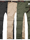 tanie Sukienki sylwestrowe-Męskie Spodnie turystyczne Na wolnym powietrzu Szybkie wysychanie, Oddychalność, SPF35 Spodnie / Spodnie przekształcane w szorty Piesze wycieczki / Ćwiczenia na zewnątrz / Multisport / Elastyczny