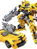 お買い得  メンズTシャツ&タンクトップ-自動車おもちゃ アクションフィギュア 車載 ロボット 変形可能な プラスチックシェル 男の子 女の子 おもちゃ ギフト 1 pcs
