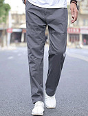 tanie Męskie spodnie i szorty-Męskie Sportowy Typu Chino / Spodnie dresowe Spodnie Solidne kolory