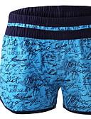 رخيصةأون ملابس السباحة والبيكيني 2017 للنساء-L XL XXL أحرف, ملابس السباحة قطع تحتية قطعة واحدة أزرق أصفر فوشيا مع حمالة نسائي / مثير