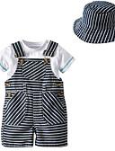 tanie Zestawy ubrań dla Chłopięce niemowląt-Dziecko Unisex Podstawowy Prążki Krótki rękaw Komplet odzieży / Brzdąc